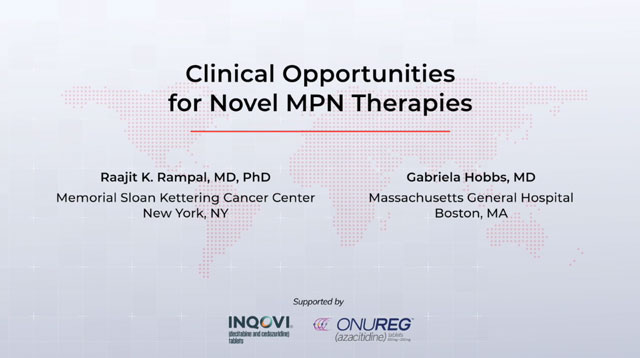 Clinical Opportunities for Novel MPN Therapies