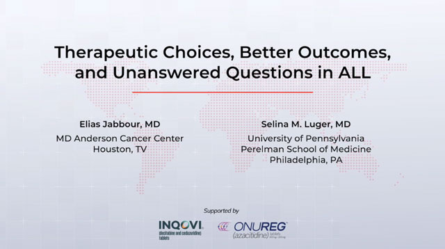Therapeutic Choices, Better Outcomes, and Unanswered Questions in ALL